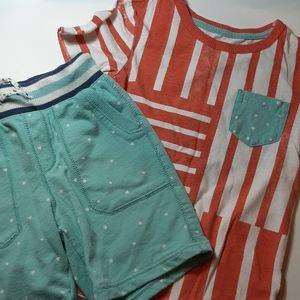 ⭐Genuine kids by OshKosh 2 piece outfit